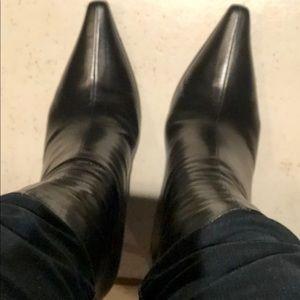 Black Jimmy Choo Boots